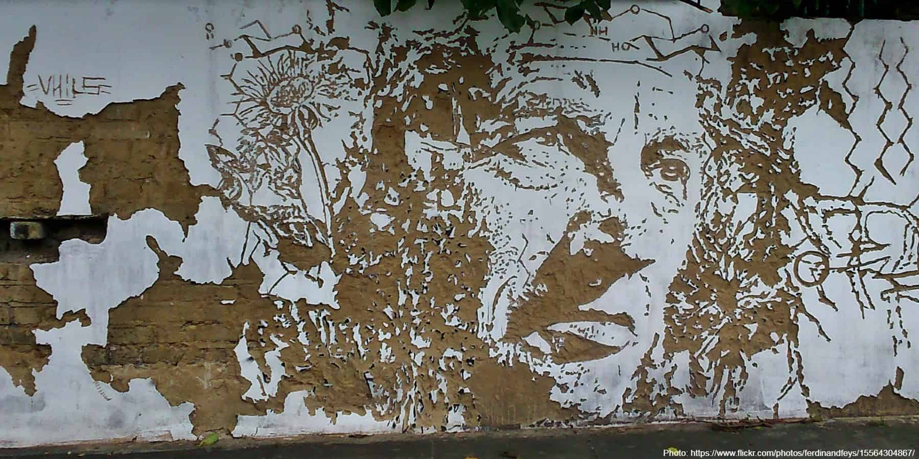 uild to last Alexandre Farto = Vhils