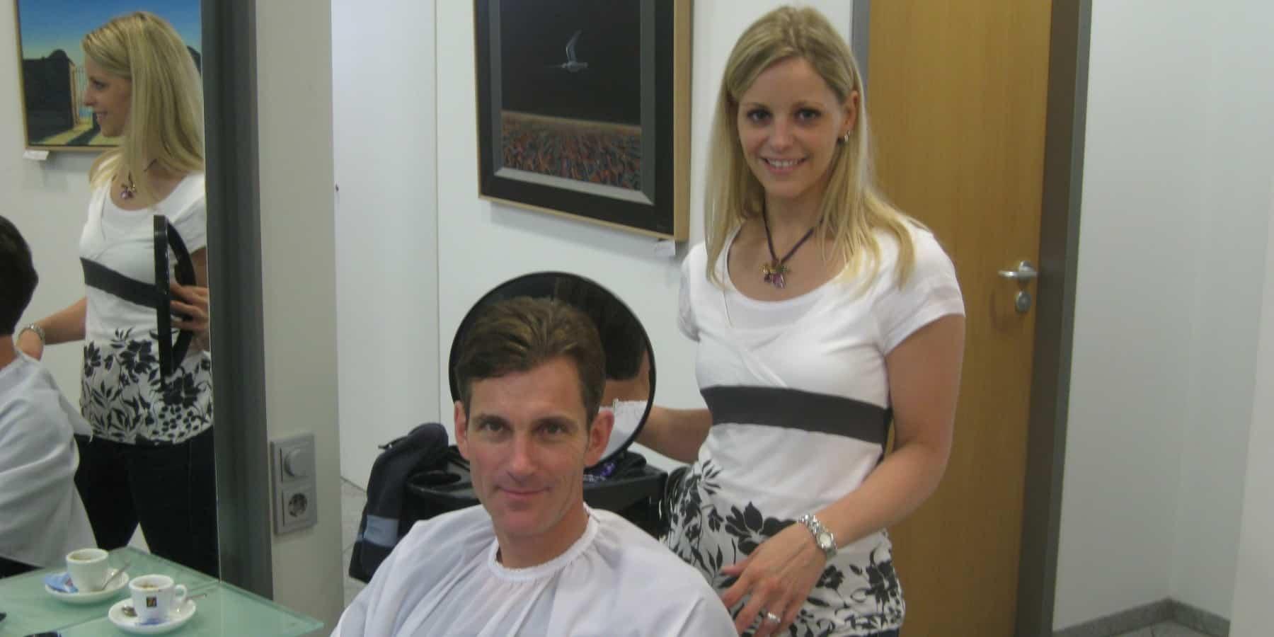 Freiheit, Verantwortung Besuch beim Friseur