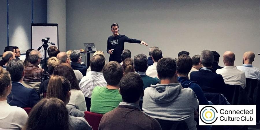 Peter Kreuz beim BMW Connected Culture Club
