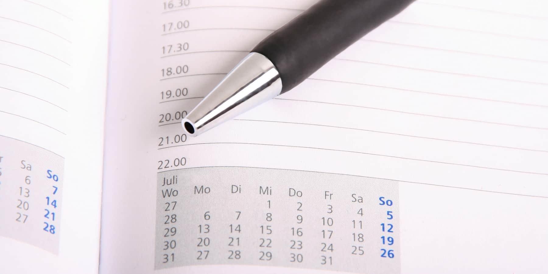 Zwei Menschentypen - Zwei Kalender
