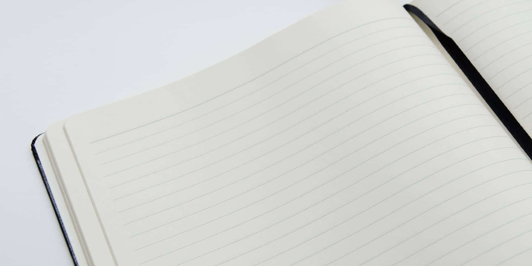 Nichts ist inspirierender als ein weißes Blatt Papier