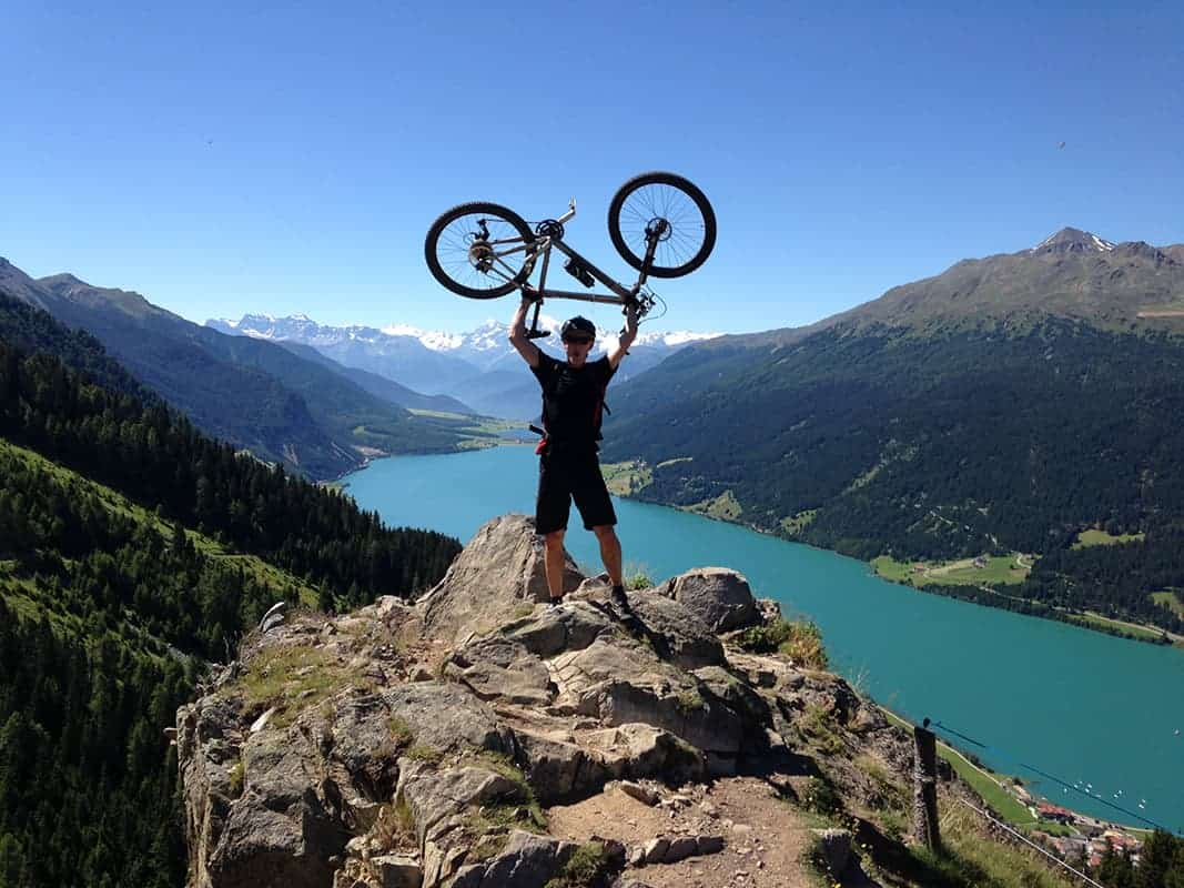 Dr Peter Kreuz mountainbike