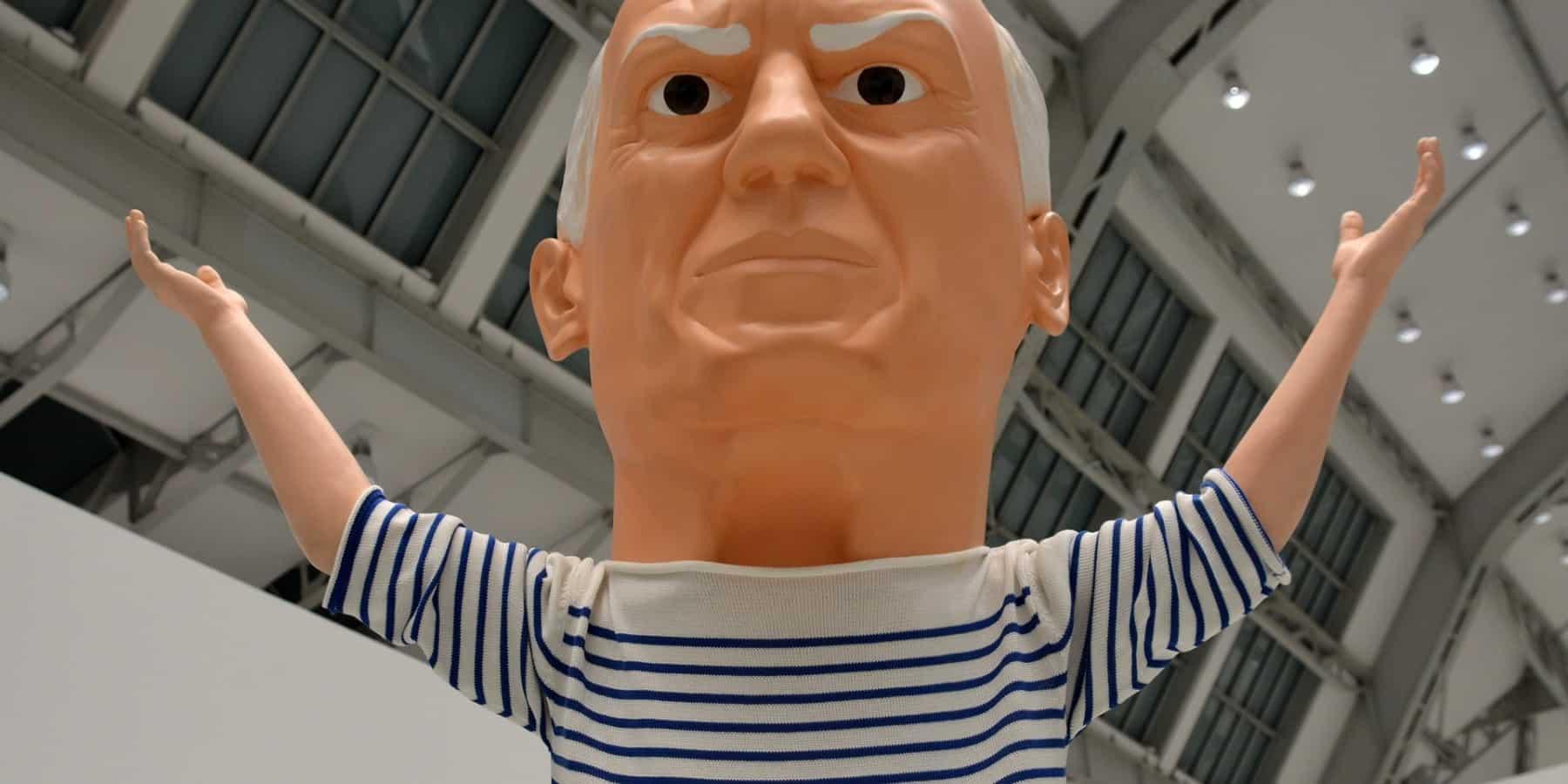 Pablo Picasso Finden statt suchen