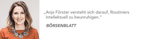 Bestsellerautorin Anja Förster
