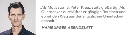 Bestsellerautor Peter Kreuz