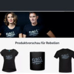 Rebels at Work: Der Shop mit T-Shirts, Tassen...