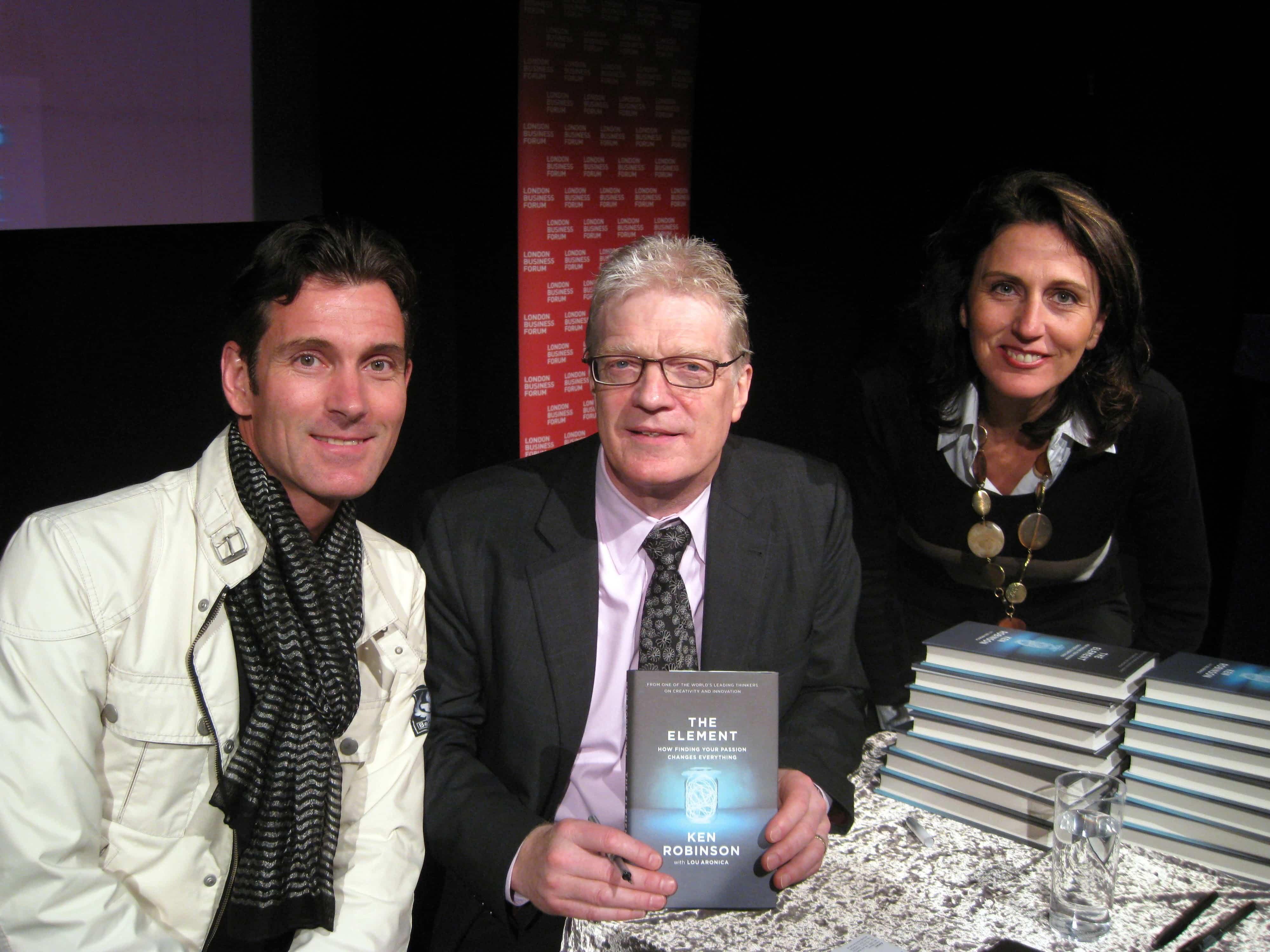 Sir Ken Robinson Interview Gespräch