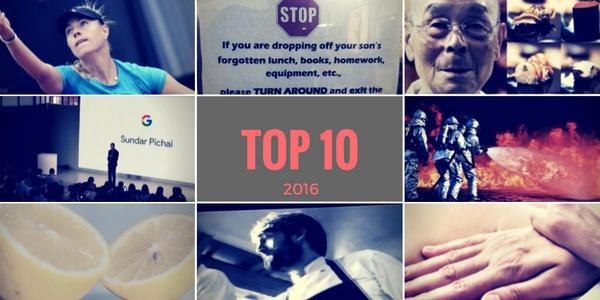 die besten Blogbeiträge 2016