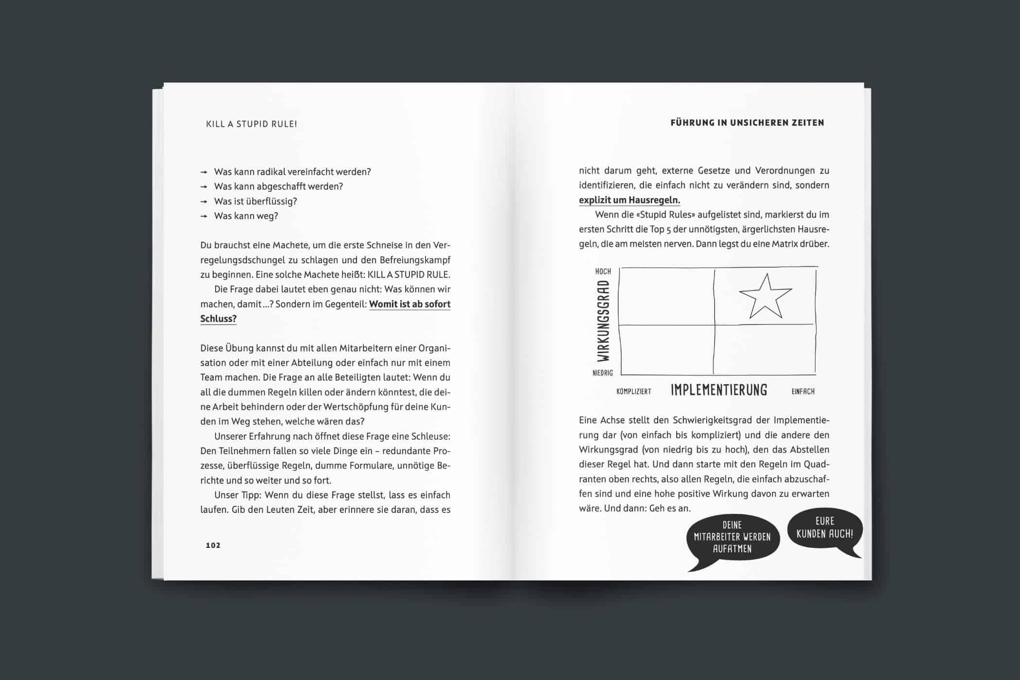 Vergeude keine Krise! Buch Vorschau 102-103