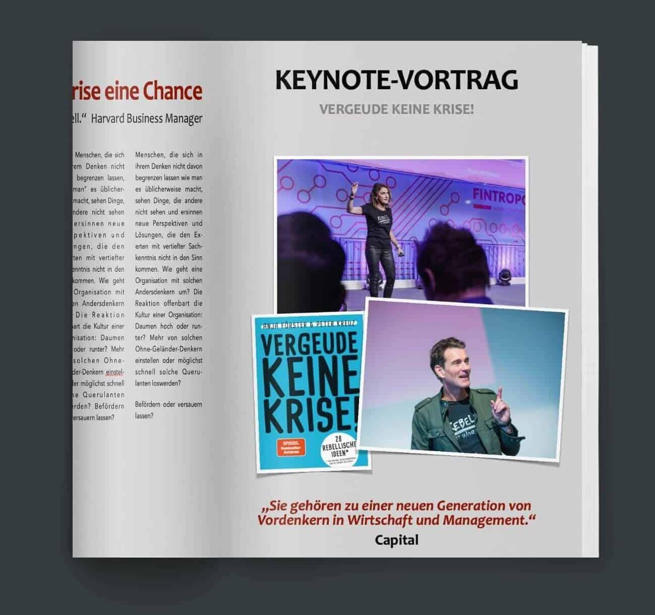 Keynote vortrag